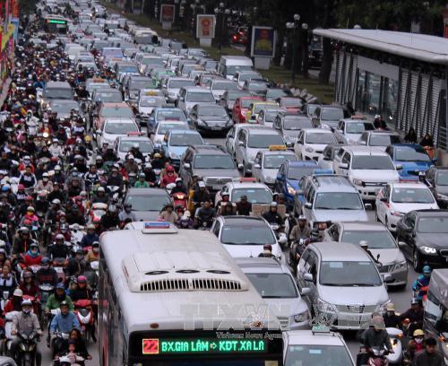 Học nước ngoài giải bài toán ùn tắc giao thông!