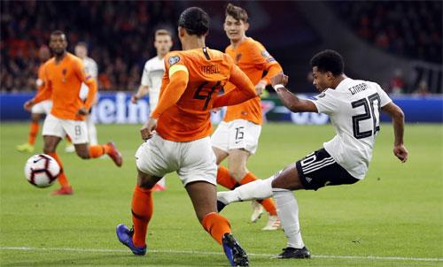 Đức và Hà Lan tái hiện trận cầu kinh điển tại châu Âu