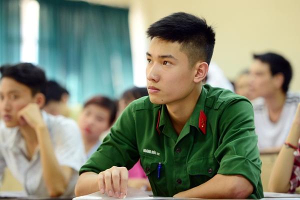 Dự thảo tuyển sinh đào tạo dân sự trong trường Quân đội