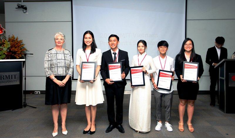 RMIT Việt Nam trao tặng 33 tỷ đồng học bổng năm 2019