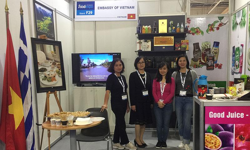 Đại sứ quán Việt Nam tại Hy Lạp tham gia triển lãm FOODEXPO