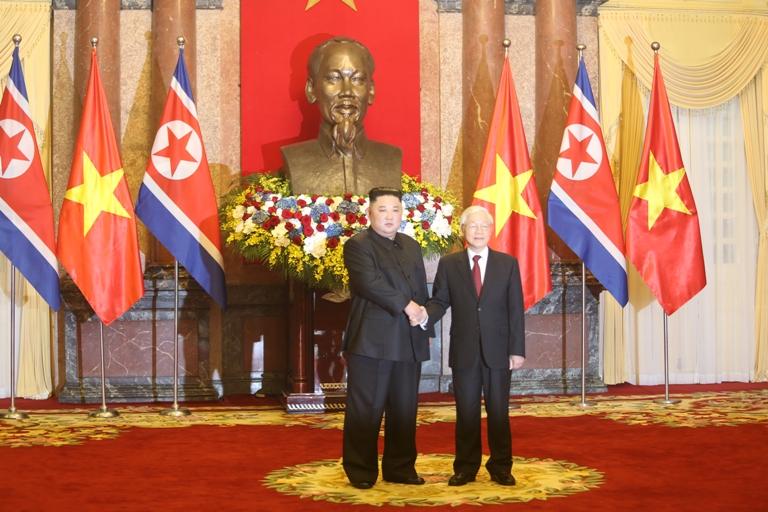 Phát triển hơn nữa quan hệ giữa hai Đảng, hai nước Việt Nam - Triều Tiên