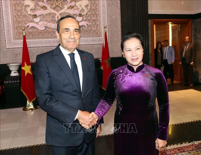 Quốc hội Việt Nam luôn ủng hộ tăng cường hợp tác nhiều mặt với Maroc