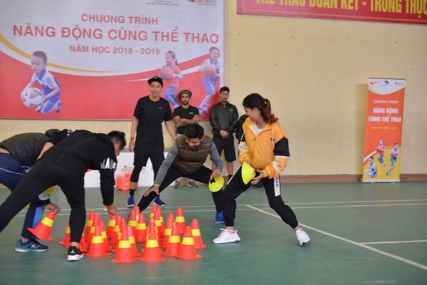 """Dự án """"Năng động cùng thể thao"""" - Nâng cao sức khỏe học sinh tiểu học Hà Nội"""