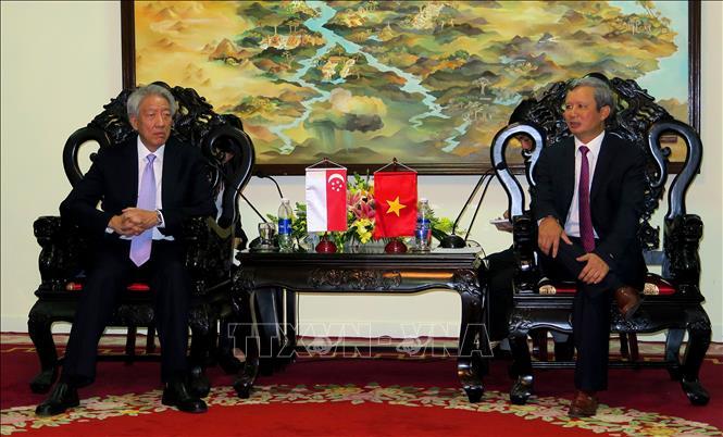 Phó Thủ tướng Singapore Tiêu Chí Hiền thăm tỉnh Thừa Thiên - Huế