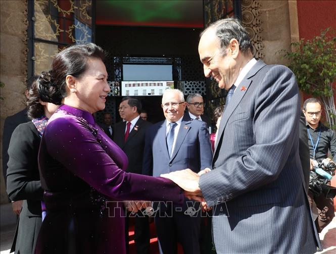 Chủ tịch Quốc hội kết thúc tốt đẹp chuyến thăm chính thức Vương quốc Maroc