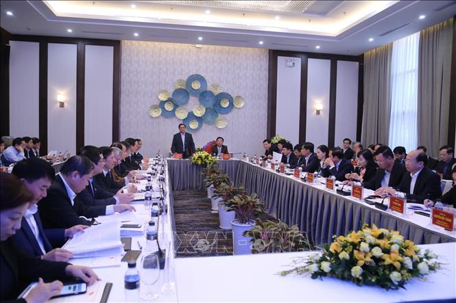 Đoàn Tiểu ban văn kiện Đại hội XIII làm việc tại tỉnh Quảng Ninh