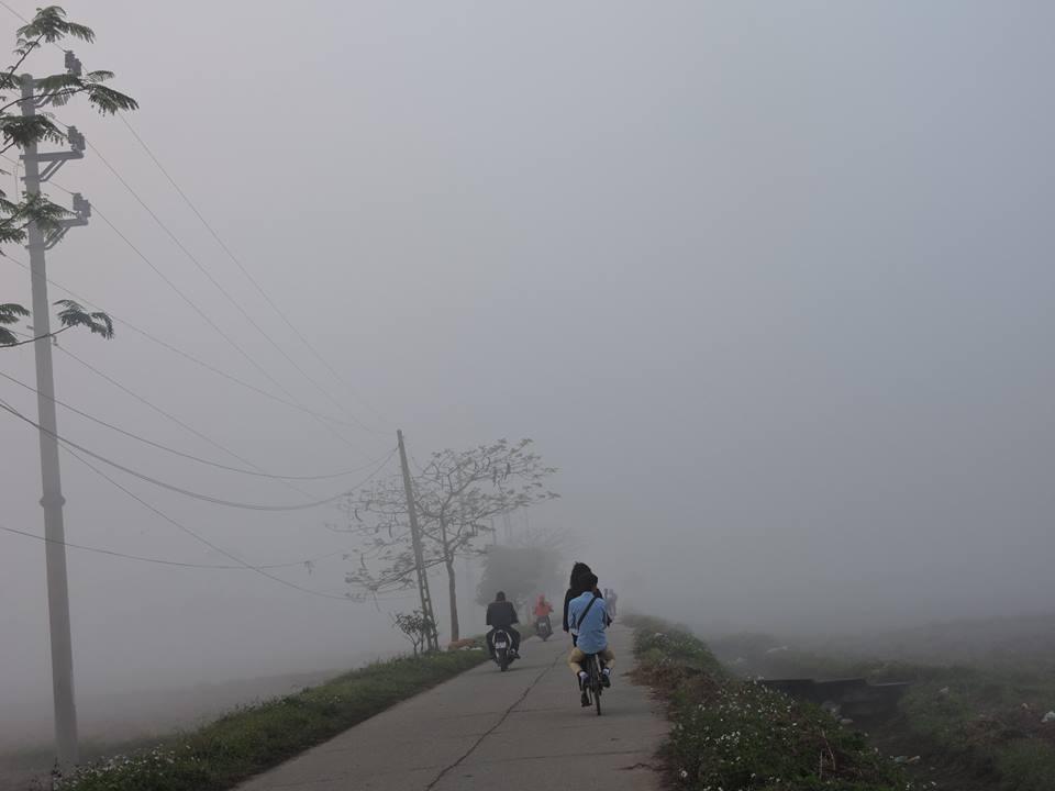 Bắc Bộ có sương mù nhẹ, Nam Bộ có nơi nắng nóng
