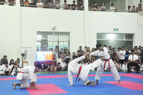 Hơn 200 vận động viên tham dự Giải Karate miền Trung - Tây Nguyên 2019