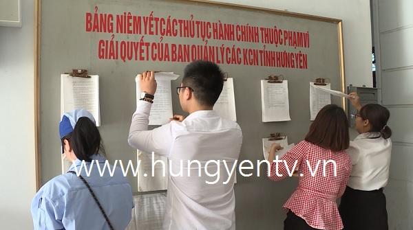 Ứng dụng công nghệ thông tin đẩy mạnh thu hút đầu tư vào các khu công nghiệp ở Hưng Yên