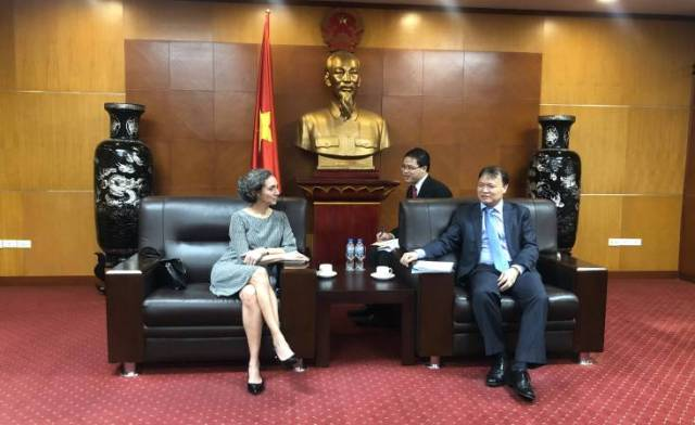 Đại sứ Cộng hòa Mexico tại Việt Nam làm việc với Bộ Công Thương