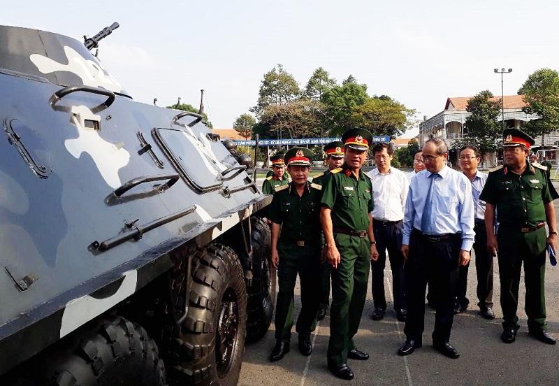 TP. Hồ Chí Minh: Xây dựng lực lượng vũ trang vững mạnh toàn diện