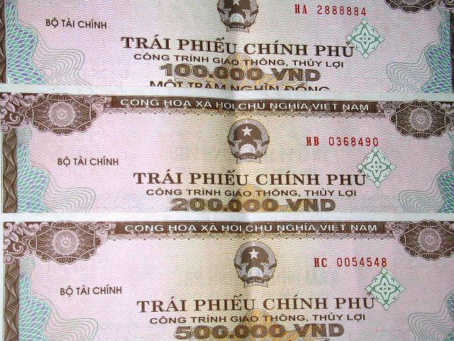 Huy động 2.820 tỷ đồng từ đấu thầu trái phiếu Chính phủ