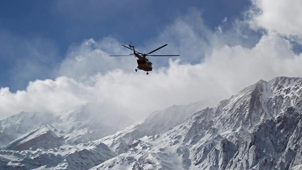 5 người thiệt mạng trong vụ rơi máy bay ở miền Tây Iran