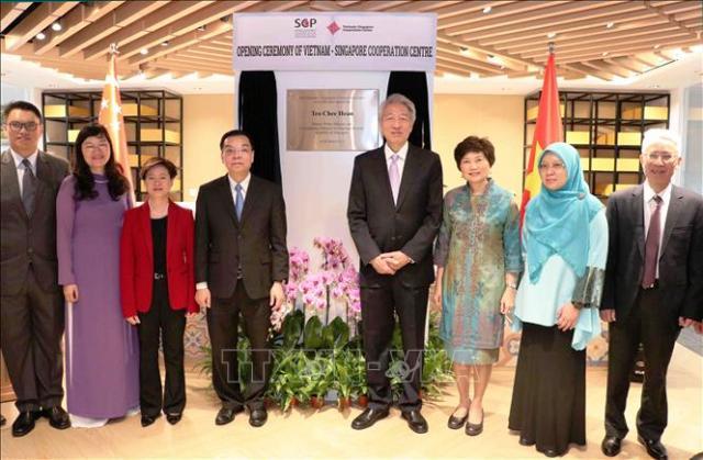 Khai trương Trung tâm Hợp tác Việt Nam-Singapore tại Hà Nội