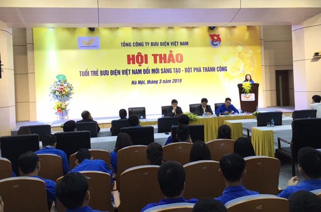 Tuổi trẻ Bưu điện Việt Nam đổi mới sáng tạo, đột phá thành công