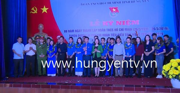 Tuyên dương 20 bí thư chi đoàn tiêu biểu tỉnh Hưng Yên năm 2019