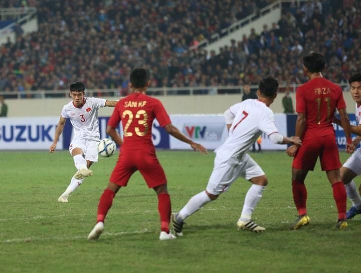 Vòng loại U23 châu Á 2020: Việt Nam đánh bại Indonesia ở phút 90+4