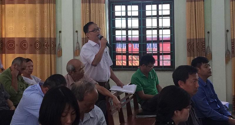 Vĩnh Tường (Vĩnh Phúc): Đối thoại với công dân về công trình chùa Già Du