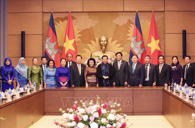 Tăng cường hợp tác giữa cơ quan lập pháp Việt Nam - Campuchia