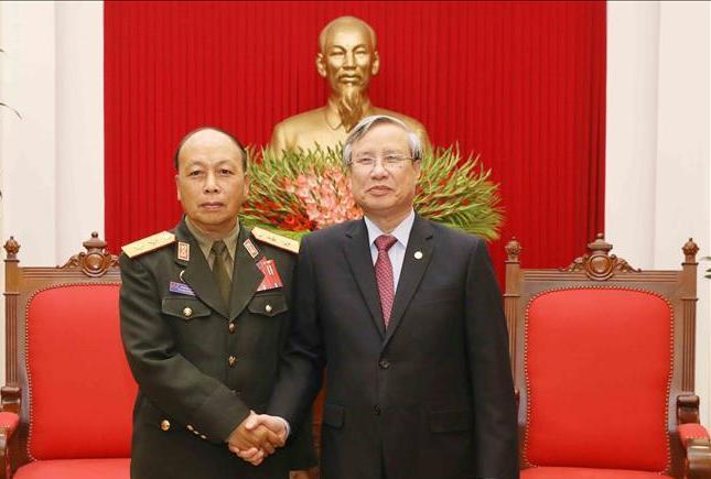 Hợp tác quốc phòng là một trong những trụ cột trong quan hệ Việt Nam - Lào