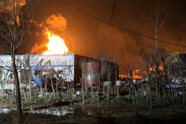 Trung Quốc: Nổ nhà máy hóa chất gây thương vong lớn