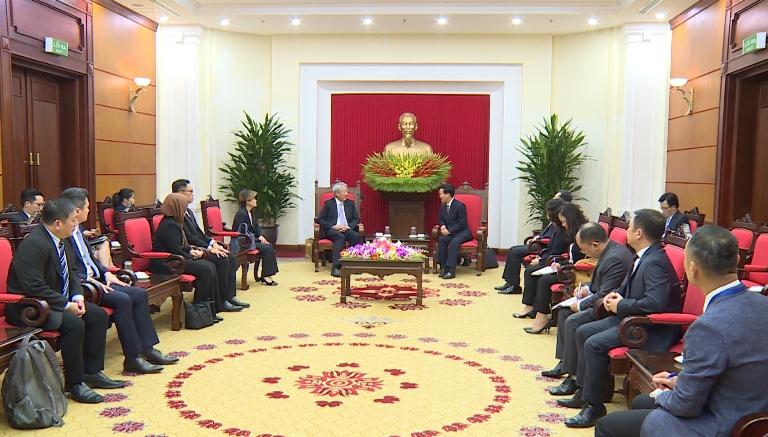 Tạo nền tảng vững chắc quan hệ hợp tác Việt Nam - Singapore
