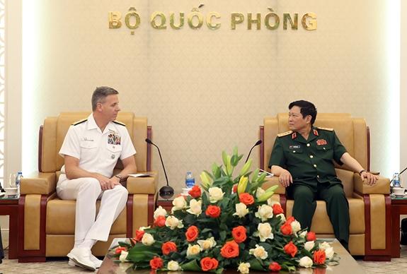 Thúc đẩy hợp tác quốc phòng Việt Nam - Hoa Kỳ