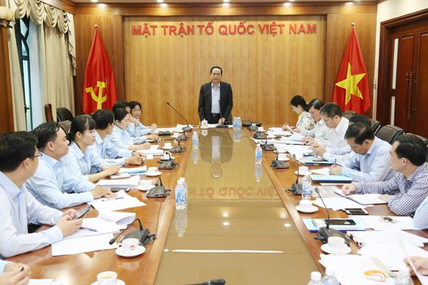 Đảm bảo thành công của Đại hội đại biểu MTTQ Việt Nam thành phố Đà Nẵng