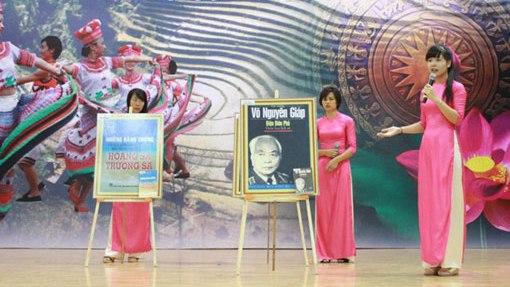 Liên hoan cán bộ thư viện tuyên truyền giới thiệu sách kỷ niệm chiến thắng Điện Biên Phủ