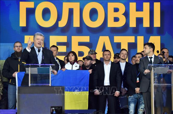 Bầu cử tổng thống Ukraine: Cử tri đi bầu vòng hai