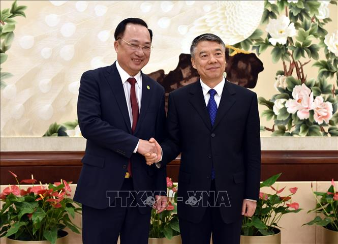 Tăng cường hợp tác giữa Bộ Công an Việt Nam và Trung Quốc