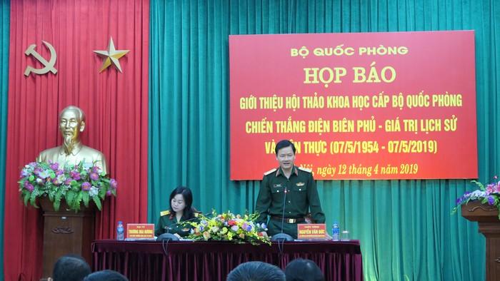 """Ngày 25/4 sẽ diễn ra Hội thảo """"Chiến thắng Điện Biên Phủ - Giá trị lịch sử và hiện thực"""""""