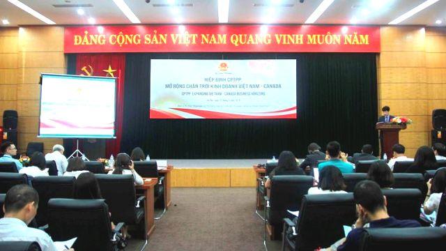 Tăng cường xúc tiến thương mại Việt Nam – Canada