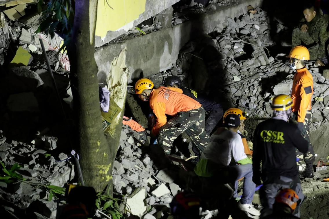 Philippines: Hai ngày hai trận động đất, nhiều người thương vong