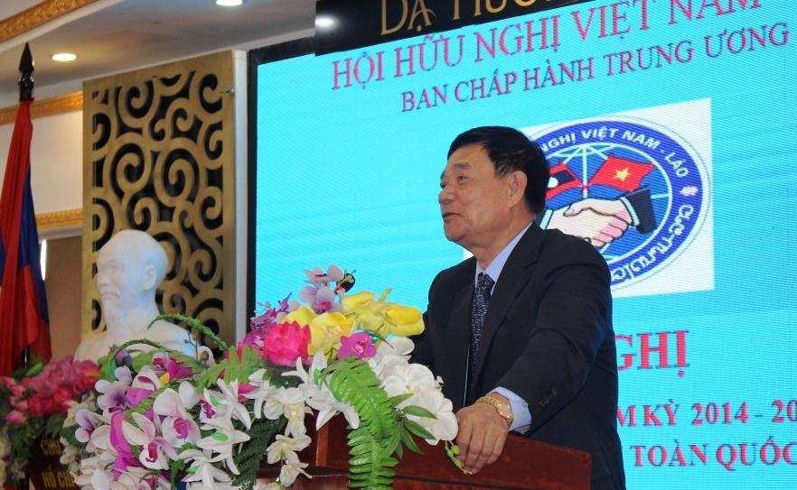 Thúc đẩy quan hệ hữu nghị giữa nhân dân hai nước Việt – Lào
