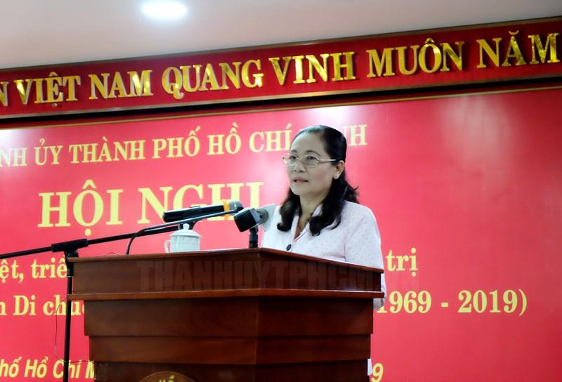TP. Hồ Chí Minh triển khai đợt sinh hoạt chính trị 50 năm thực hiện Di chúc Chủ tịch Hồ Chí Minh