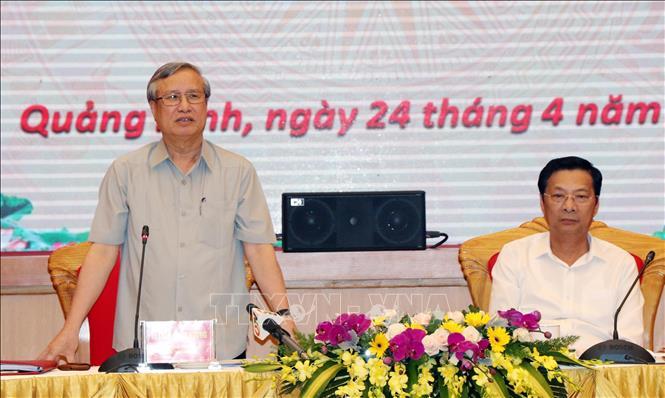 Quảng Ninh cần tiếp tục quan tâm công tác xây dựng Đảng