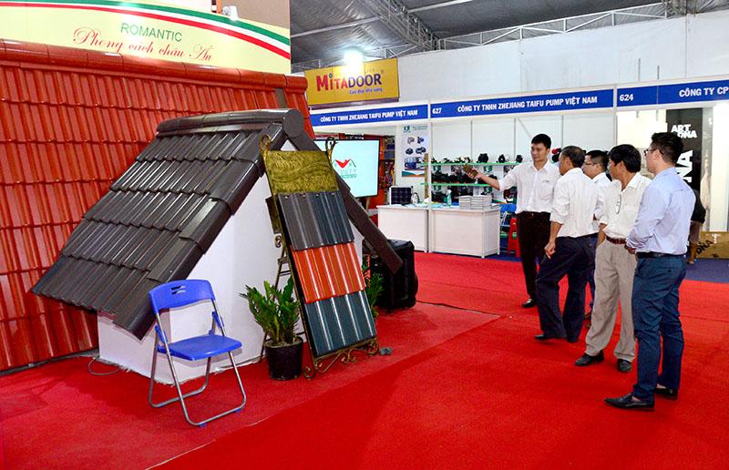 Triển lãm Vietbuild TP Hồ Chí Minh 2019 có quy mô hơn 1.600 gian hàng