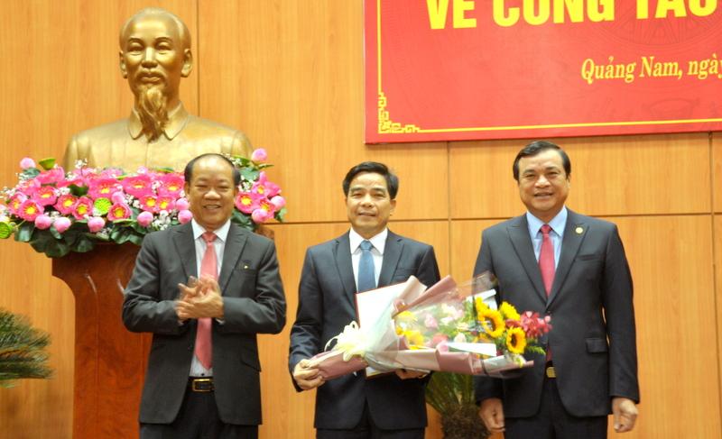 Đồng chí Lê Văn Dũng giữ chức Phó Bí thư Thường trực Tỉnh ủy Quảng Nam