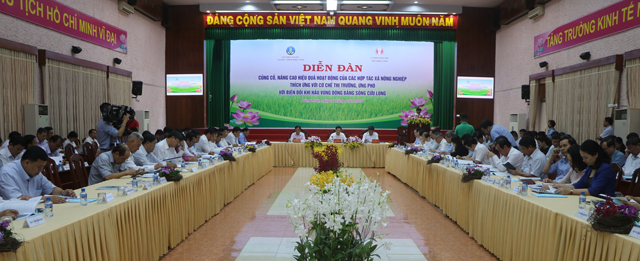 Nâng cao hiệu quả hoạt động của hợp tác xã nông nghiệp