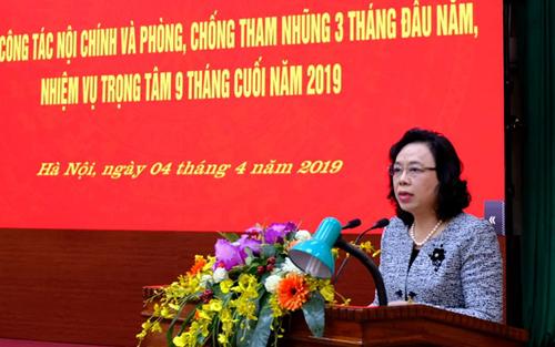 Hà Nội: Tiếp tục thực hiện tốt công tác nội chính và phòng, chống tham nhũng
