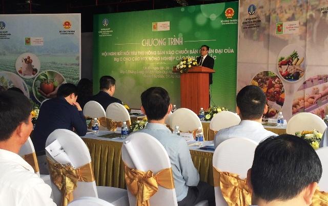 Kết nối tiêu thụ hàng hóa nông sản của HTX vào hệ thống siêu thị Big C Việt Nam