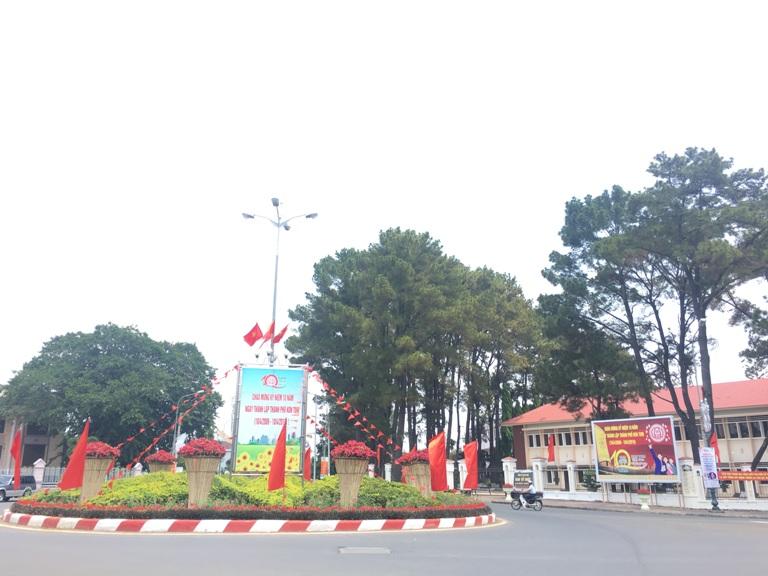 Tự hào thành phố trẻ Kon Tum