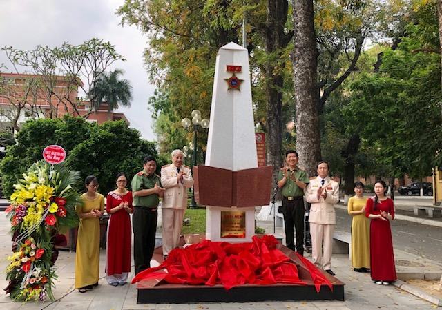 Khánh thành Đài kỷ niệm cán bộ Công an chi viện chiến trường miền Nam