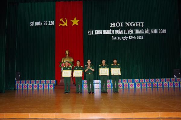Sư đoàn 320 hoàn thành tốt các nhiệm vụ trong tháng đầu huấn luyện