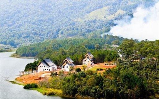 Xử lý dứt điểm vi phạm đất đai trong Khu Du lịch Hồ Tuyền Lâm