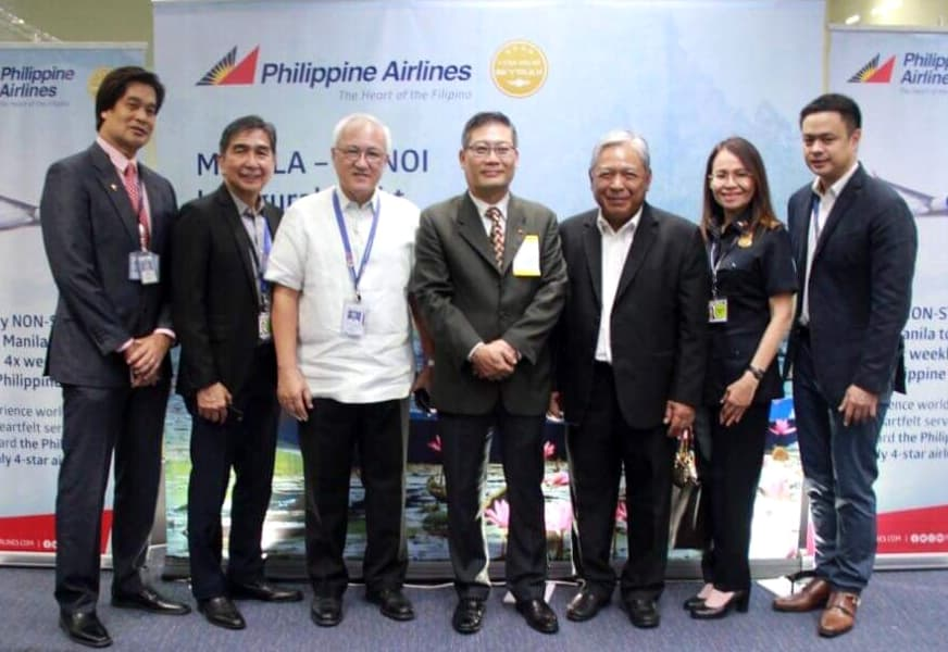 Khai trương đường bay thẳng Manila - Hà Nội