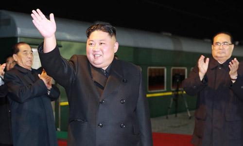 Nhà lãnh đạo Triều Tiên Kim Jong-un lên đường thăm Nga