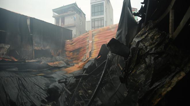 Làm rõ nguyên nhân vụ cháy nhà xưởng tại quận Nam Từ Liêm, Hà Nội